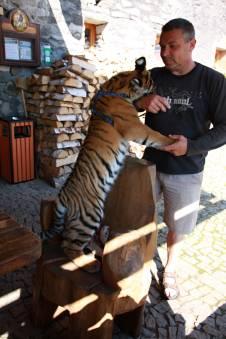 Druhý den, jsme se vydali na výlet do Lipové Lázně, navštívit faunapark
